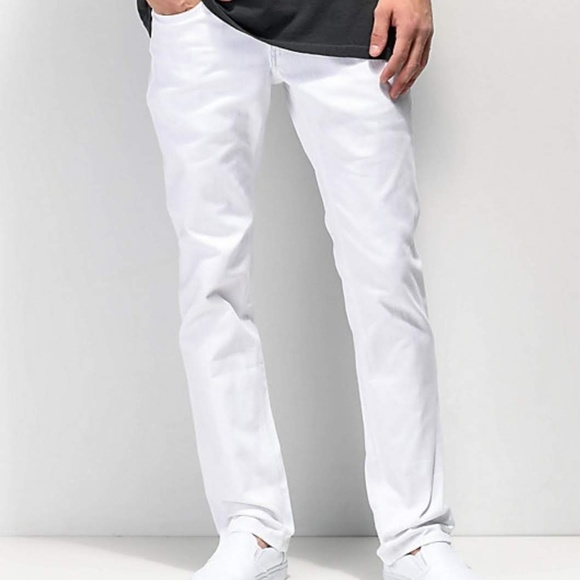 Empyre Other - 🆕Empyre Jeans Slim Skelator white jeans size 32🦅